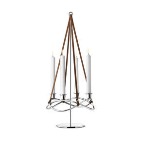 Candle Holder SS Mirror - extension