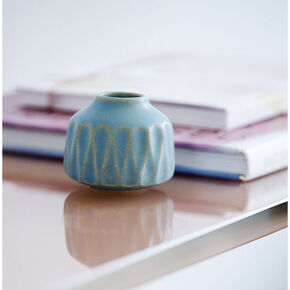 Vase - small light blue MODEL 87